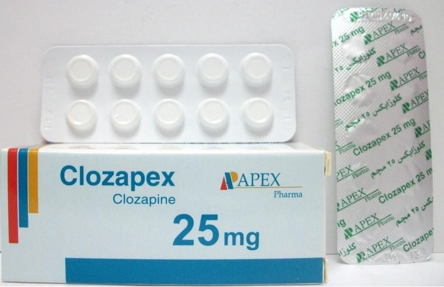 كلوزابكس أقراص Clozapex Tablets لعلاج الإرهاق والأرق ومضاد للذهان