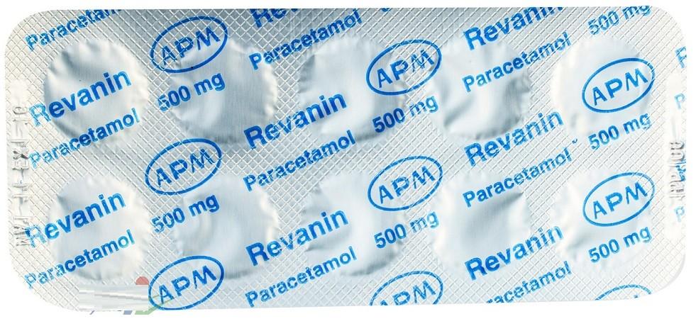 دواعي استعمال أقراص ريفانين Revanin Tablets