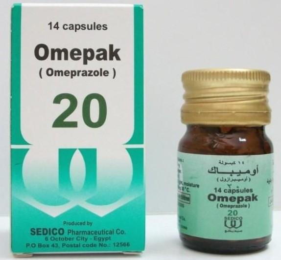 الآثار الجانبية لدواء أوميباك كبسولات