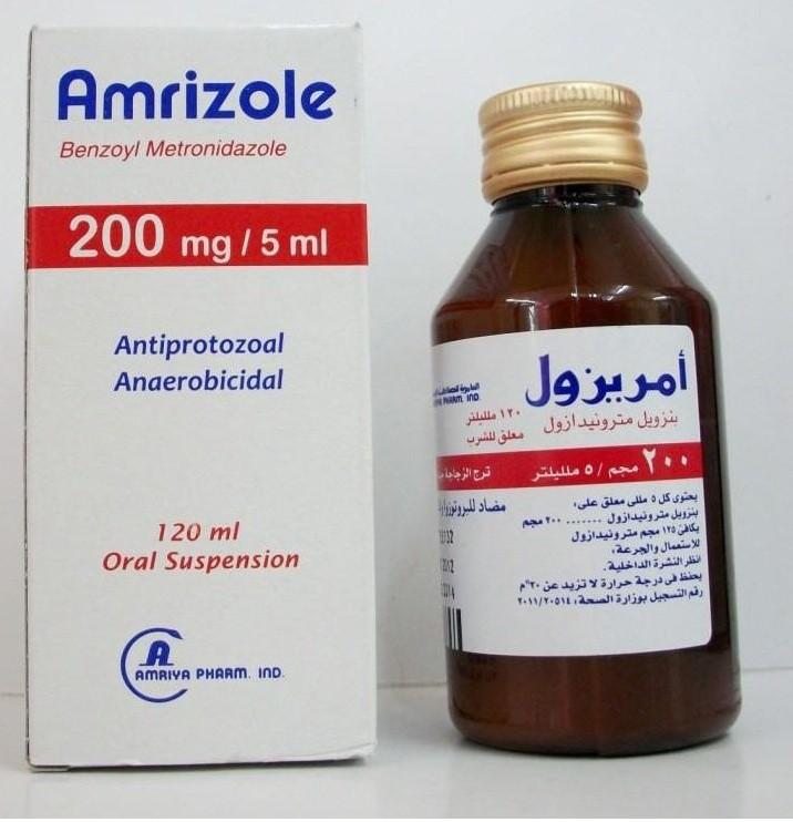 موانع الاستخدام لدواء أمريزول أقراص شراب أقماع