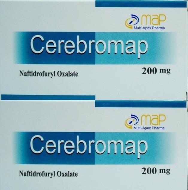 الأحتياطات وموانع الأستعمال لدواء Cerebromap Capsules