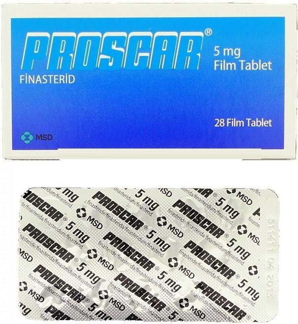 الآثار الجانبية لدواء PROSCAR أقراص