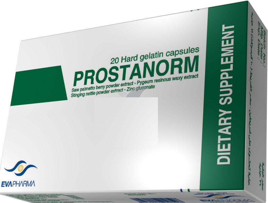 الجرعة وطريقة الإستعمال لدواء بروستانورم كبسولات