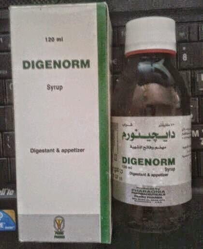 Photo of دواء دايجينورم شراب Digenorm Syrup فاتح للشهيه ماهى الجرعة وطريقة استعماله