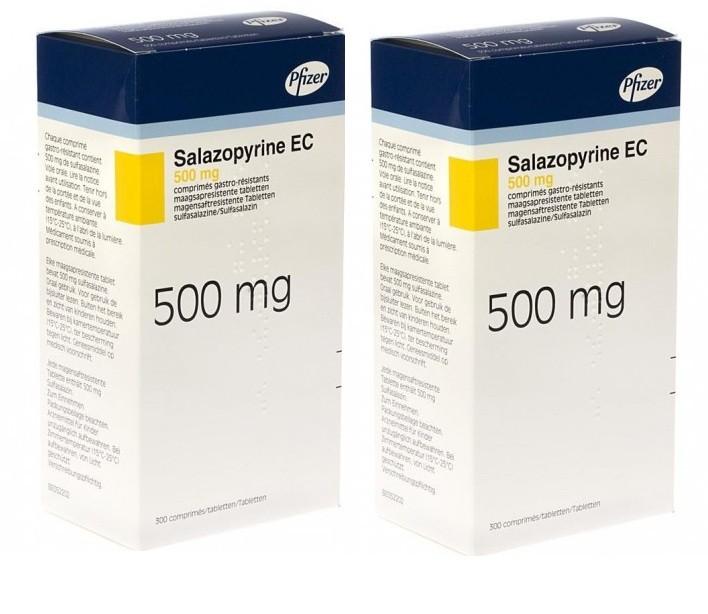 دواء سالازوبيرين Salazopyrin أقراص لعلاج الآلم والتهابات الأمعاء