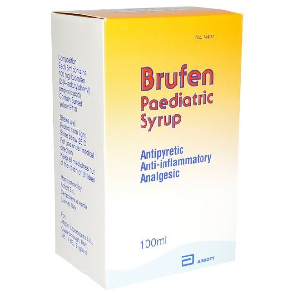 موانع الاستخدام لدواء بروفين brufen