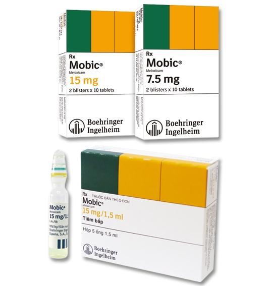 الآثار الجانبية لدواء موبيك أقراص أمبولات