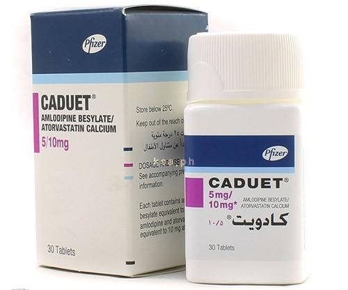 Photo of كادويت أقراص Caduet Tablets لعلاج ضغط الدم والذبحة الصدرية