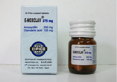 ايموكسكلاف أقراص E-Moxclav Tablets