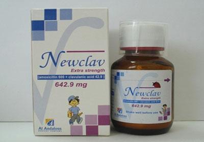 نيوكلاف شراب Newclav Suspension