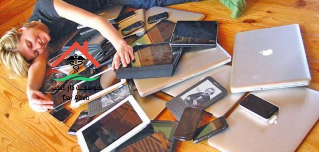 اضرار الأجهزة الإلكترونية