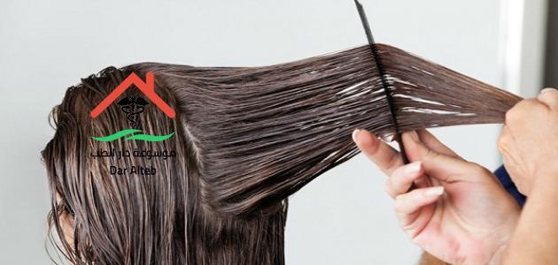 اضرار فرد الشعر بالكرياتين