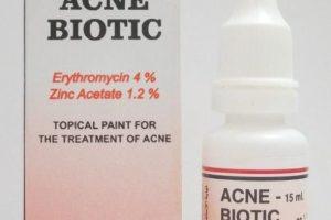 دواء أكني بيوتك محلول Acne Biotic لعلاج حب الشباب