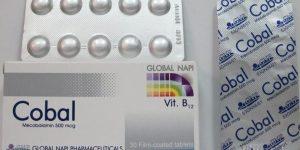 كوبال أقراص وكوبال اف Cobal لعلاج نقص حمض الفوليك للحامل
