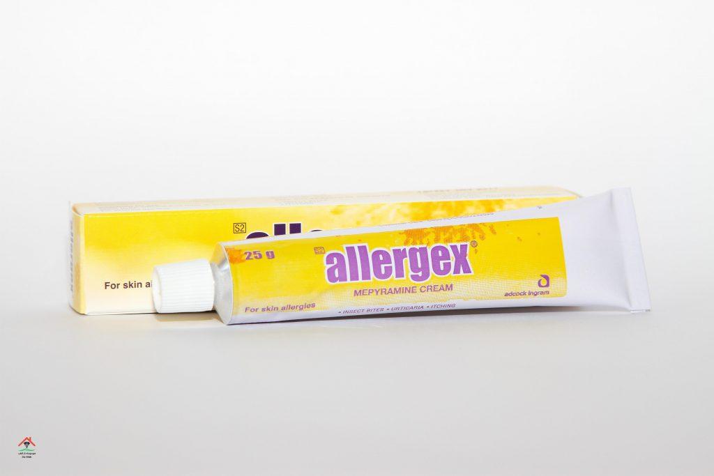 Photo of الليرجكس كريم Allergex لعلاج الحكة والحساسية