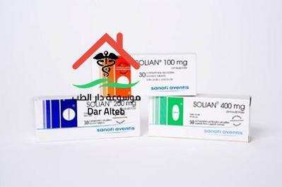 Photo of سوليان Solian Tablets دواعي الاستعمال والآثار الجانبية
