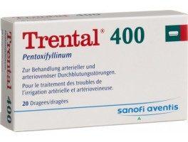 ترنتال 400 Trental لعلاج اضطرابات الدورة الدموية المخية