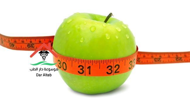 رجيم التفاح الاخضر