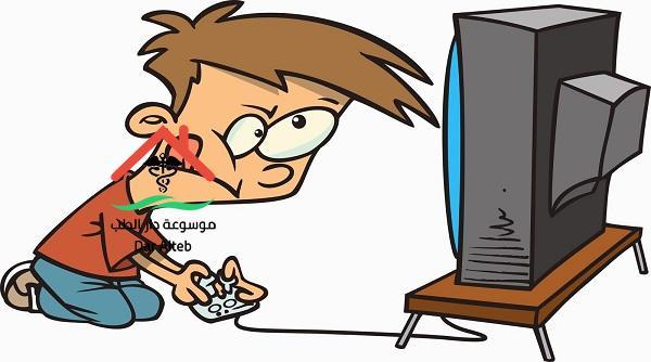 اضرار الألعاب الإلكترونية