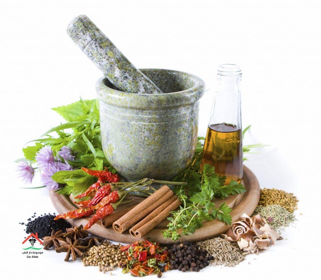 علاج الحموضة بالاعشاب