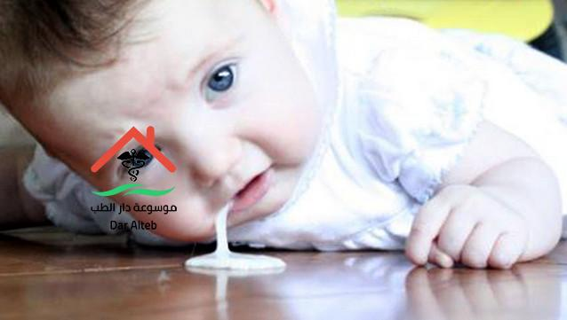 علاج الاسهال والترجيع عند الاطفال