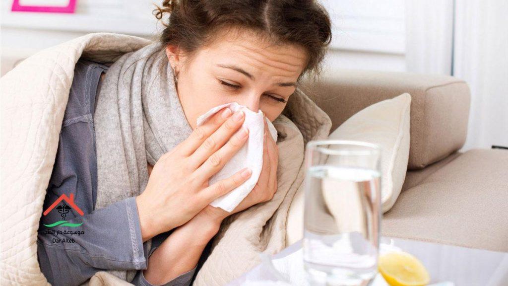 علاج نزلات البرد للام المرضعة