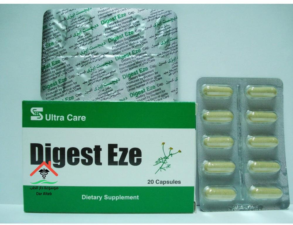 Photo of دايجست-ايزي Digest Eze لعلاج الأنتفاخ الجرعة والآثار الجانبية