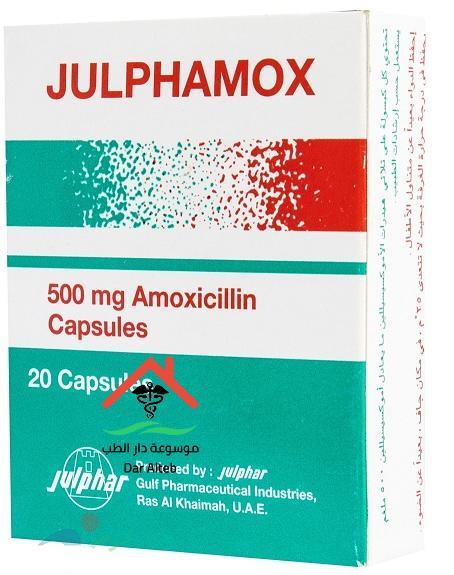 جالفاموكس Julphamox مضاد للبكتريا والميكروبات الجرعة والآثار الجانبية
