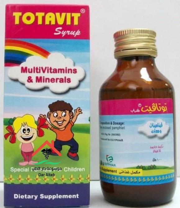 الآثار الجانبية لدواء توتافيت