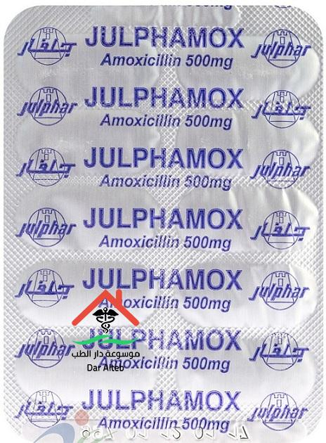 الآثار الجانبية لدواء جالفاموكس Julphamox