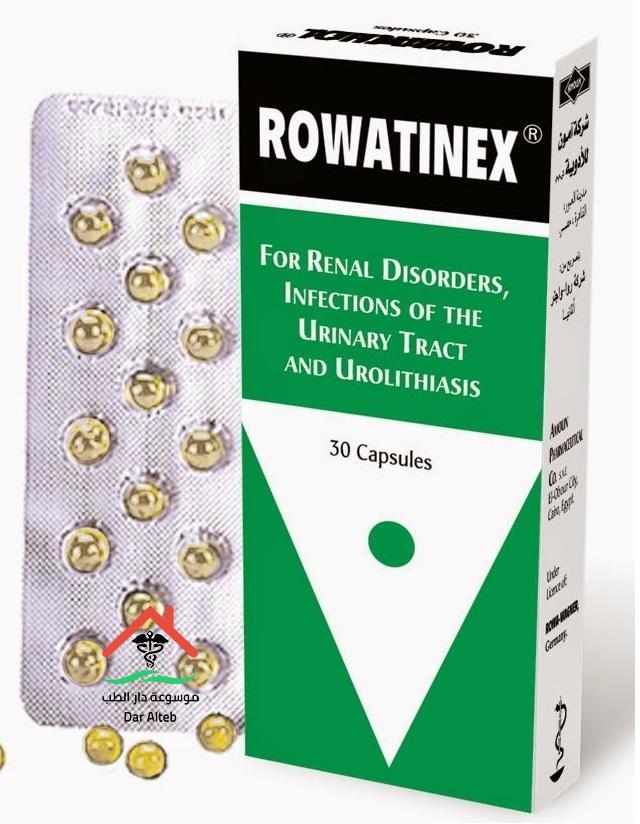 الآثار الجانبية لدواء روانكس Rowanix