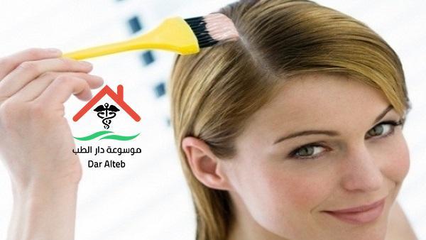 أضرار صبغات الشعر