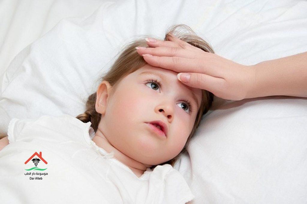 علاج السخونة عند الاطفال