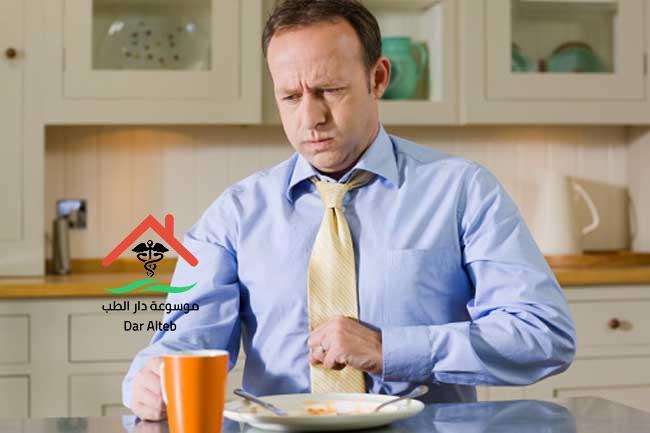 علاج عسر الهضم المزمن بالأعشاب