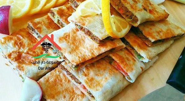 Photo of طريقة عمل المطبق السعودى باللحمه المفرومه بالصور