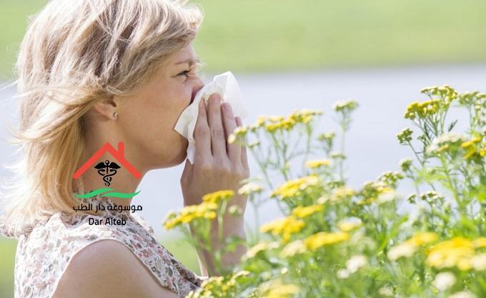 علاج حساسية الانف بالاعشاب