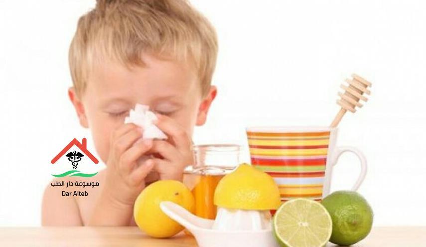 علاج نزلات البرد بالاعشاب