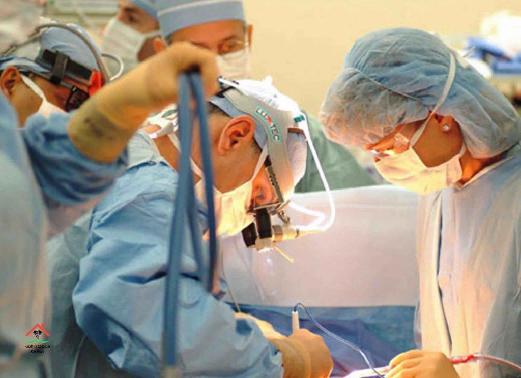 عملية المرارة بالمنظار والجراحة