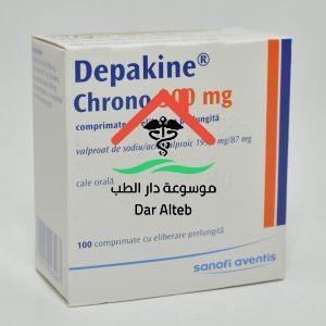 دواعي استعمال دواء ديباكين كرونو