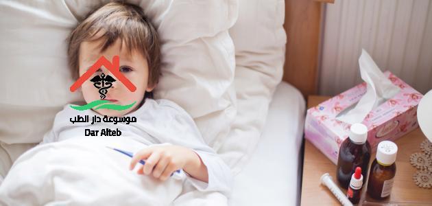 هل اللبن يزيد السخونة عند الاطفال